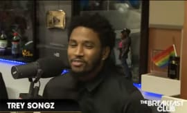 Trey Songz sits down to speak on 'The Breakfast Club.'
