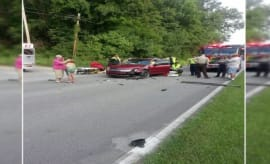 Car crash that injured Audra Tatum