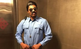 Russell Westbrook's 2014 Halloween costume.