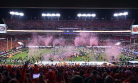 Raymond James Stadium Clemson Alabama 2017