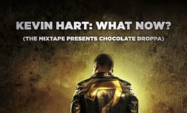 This is Kevin Hart's Chocolate Droppa mixtape cover.