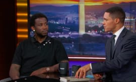 Gucci Mane on 'The Daily Show' with Trevor Noah.