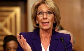 United States Secretary of Education Besty DeVos