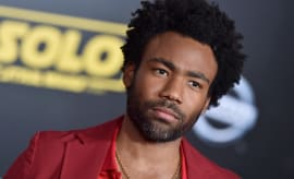 Donald Glover at the 'Star Wars' premiere