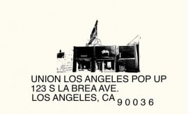 Union Los Angeles Black Friday Sale 2017