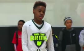 LeBron James Jr. balls out at a youth tournament.