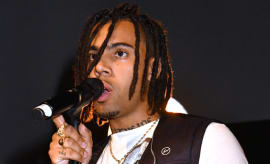 Vic Mensa performs