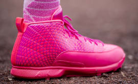 Mookie Betts Air Jordan 12 Mother's Day Cleats