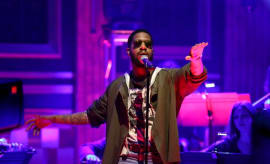 "Kid Cudi performs ""Kitchen"" on 'The Tonight Show.'"