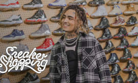 Lil Pump Goes Sneaker Shopping With Complex | Sneaker Shopping