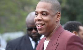 Jay-Z attends 2017 Roc Nation Pre-Grammy Brunch.
