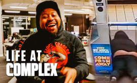 Did Akademiks Go Viral On The Subway? | Life At Complex