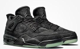 192a4fef214b07 You Can t Resell the Black Kaws x Air Jordan 4