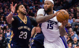 DeMarcus Cousins Anthony Davis 2016 Kings Pelicans