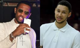 Fabolous and Ben Simmons.