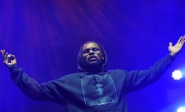 This a photo of Schoolboy Q