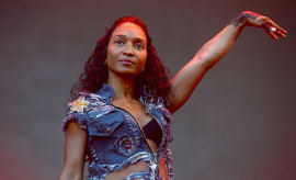Rozonda 'Chilli' Thomas of the band TLC performs onstage