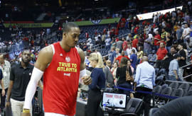 dwight howard on the atlanta hawks