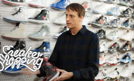 Tony Hawk Goes Sneaker Shopping With Complex | Sneaker Shopping