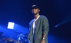 Bryson Tiller at Real 92.3's The Real Show