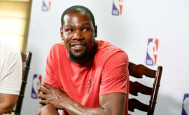 Kevin Durant in India.