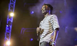 Playboi Carti performs at 2017 BET Experience