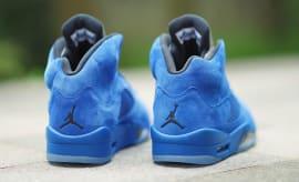 Air Jordan 5 Blue Suede Release Date 136021-401