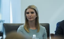 Ivanka Trump at tech meeting.