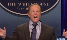 Melissa McCarthy as Sean Spicer on 'SNL'