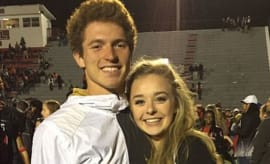 Ex-college football player William Gaul and ex-girlfriend Emma Walker.