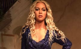 Beyoncé wax figure.