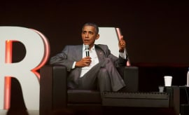This is a photo of Barack Obama.