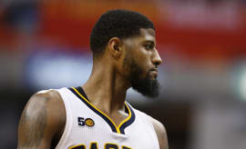 Paul George Pacers Thunder 2017