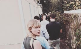 This is Taylor Swift's Instagram picture.