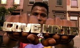Bill Nunn as Radio Raheem in 'Do the Right Thing'