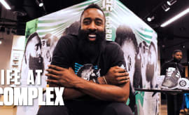Living A Day In The Life Of James Harden | Life At Complex