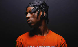 This is a photo of Joey Bada$$.