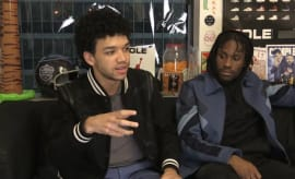 Justice Smith and Shameik Moore, stars of Netflix's 'The Get Down'