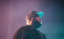 Killer Mike at Run The Jewels concert in Atlanta, GA