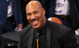LaVar Ball at the 2017 NBA Draft.