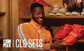 NFL Star Antonio Brown Shows Off His Insane Mansion and Sneaker Collection | Complex Closets