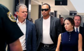 Tiger Woods in court in Florida