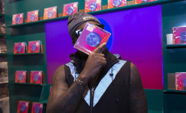 Wale promotes his latest album.