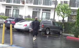 Kanye Walking
