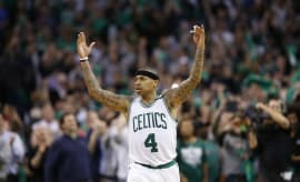 Isaiah Thomas Celtics Wizards Game 2 2017