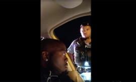 black-driver-cop