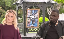 Allison Williams and Daniel Kaluuya talk 'Get Out.'