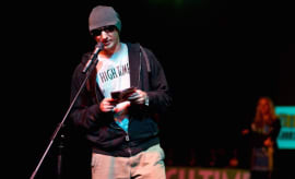 Nico Escondido announces the winners of the 2nd Annual Cannabis Cup Awards.