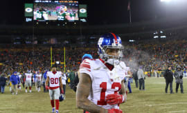 Odell Beckham Jr Lambeu Field 2017 Giants Packers