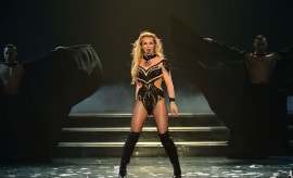 Britney Spears performing her 'Piece of Me' residency in Las Vegas